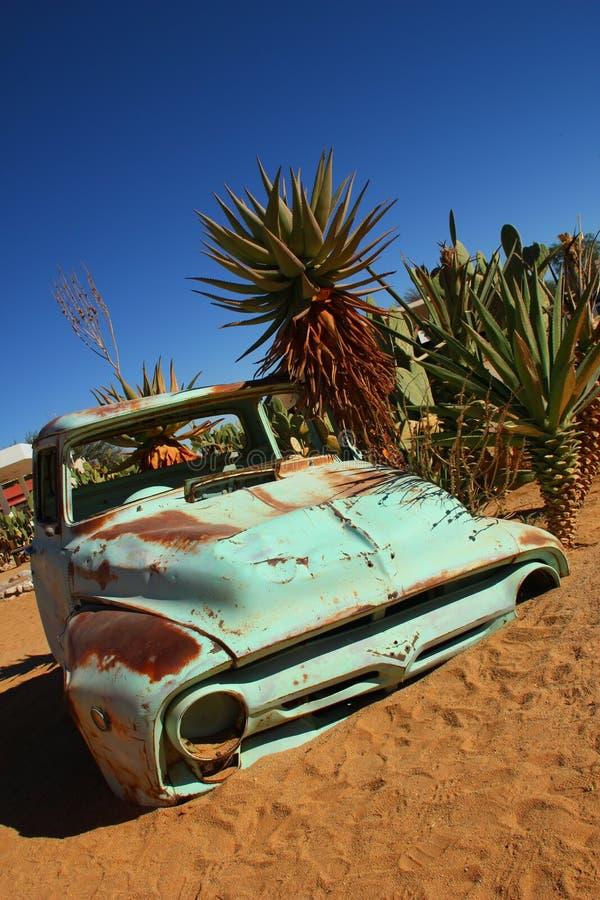 Solitaire Namibia arkivbilder