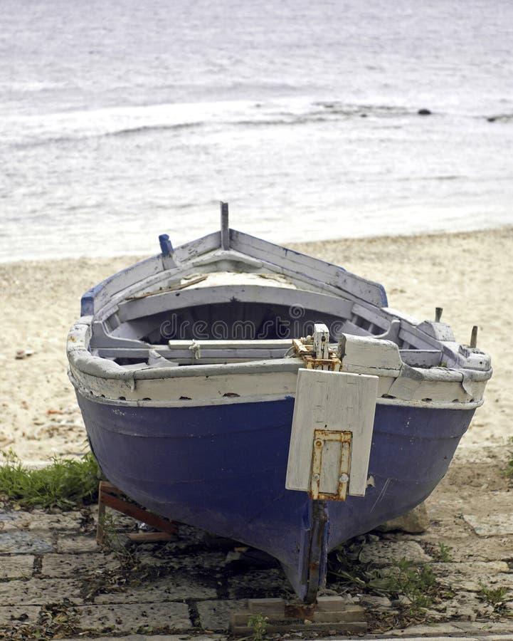 Free Solitare Boat Stock Image - 4808541