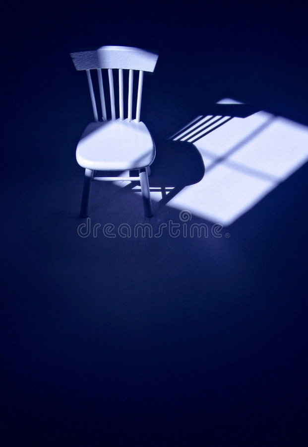 Free Solitary Chair Stock Photography - 1352042