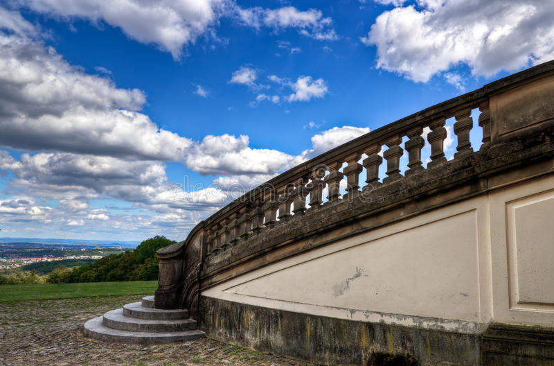 Download Solitude Castle stairs stock image. Image of city, germany - 20980681