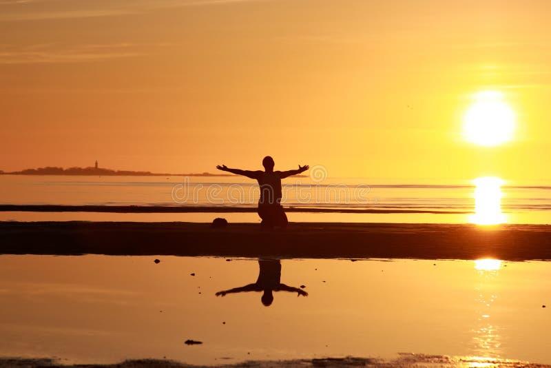 Solitude de matin photos libres de droits