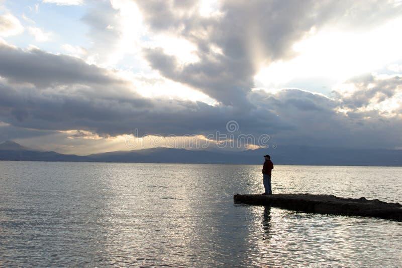 Solitudine fotografia stock