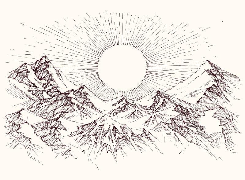Sollöneförhöjningen skissar vektor illustrationer
