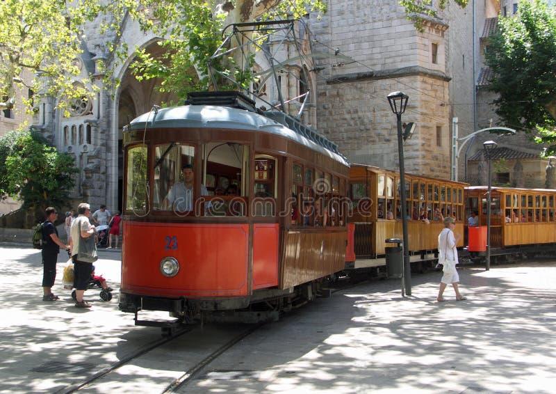 Soller Tram stock photography