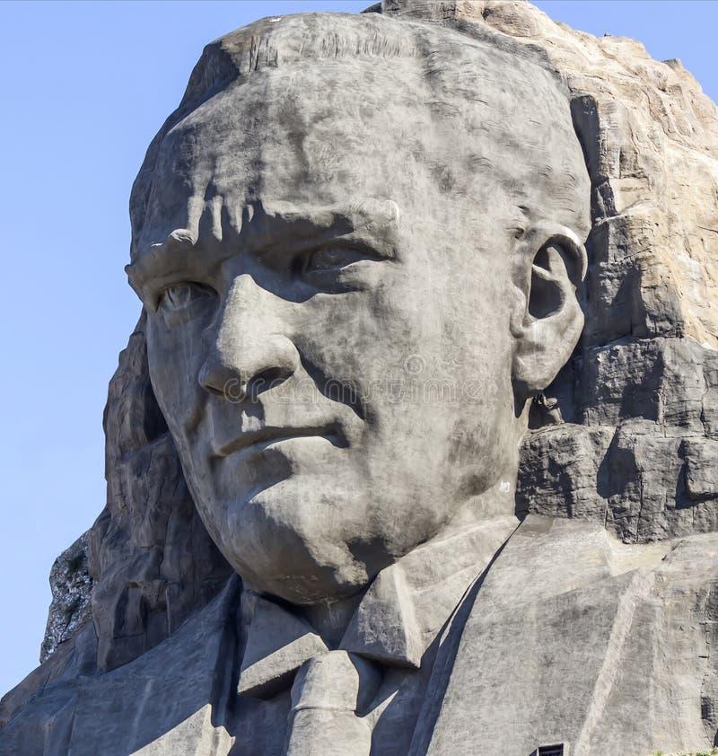 Sollievo di Ataturk immagine stock libera da diritti