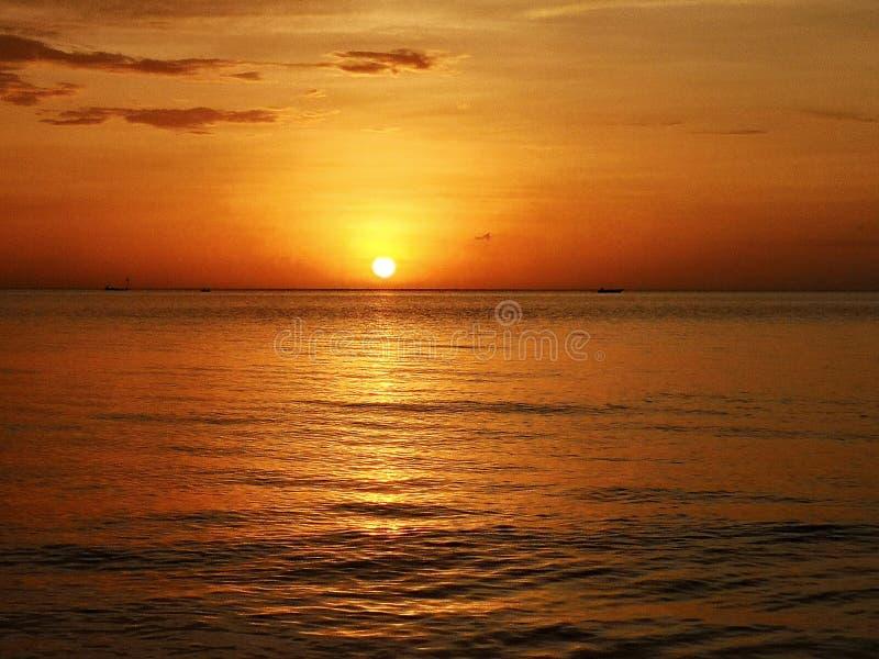 Solnedgång royaltyfri bild