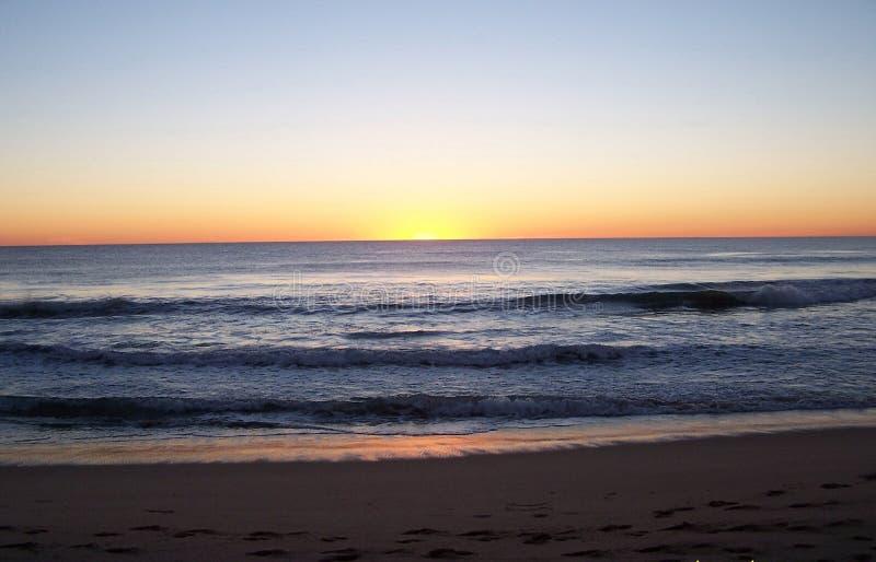 solnedgång 22 arkivbild