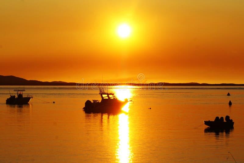 solnedgång 1770 royaltyfri foto