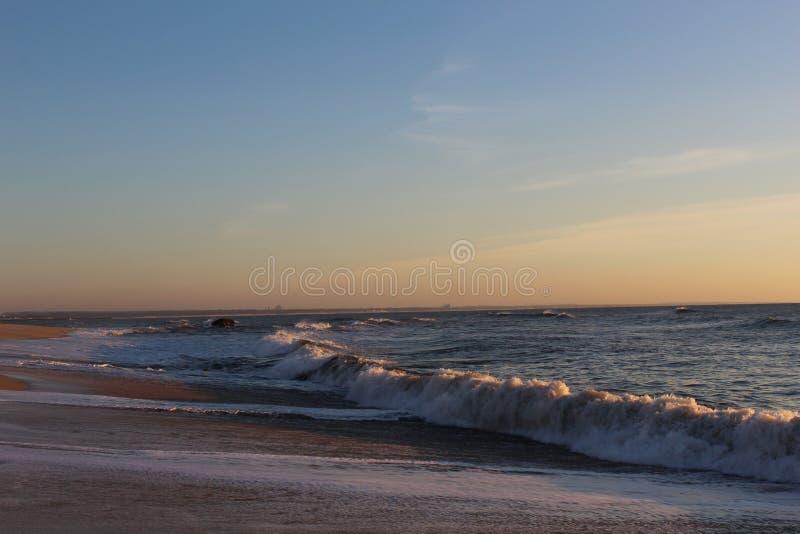 Solnedgång i Portugal III royaltyfria foton