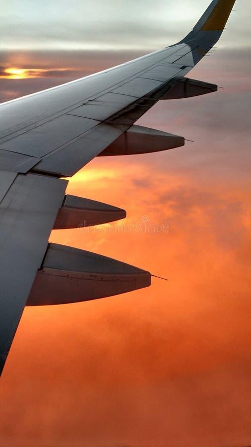 Solnedgång under arkivbilder
