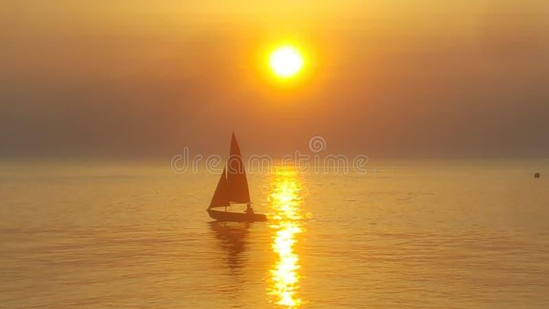Solnedgångsolnedgångsolnedgång arkivfoton