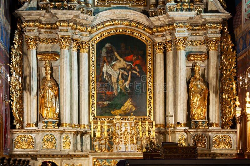 Solny fyrkant (Plac Solny), Wroclaw, Polen royaltyfri foto