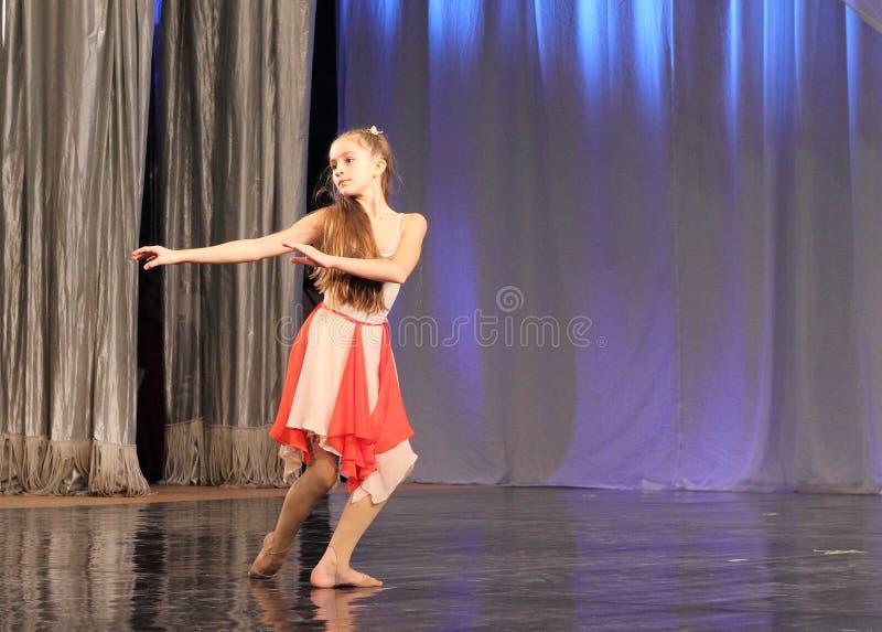 Solo choreografia fotografia stock