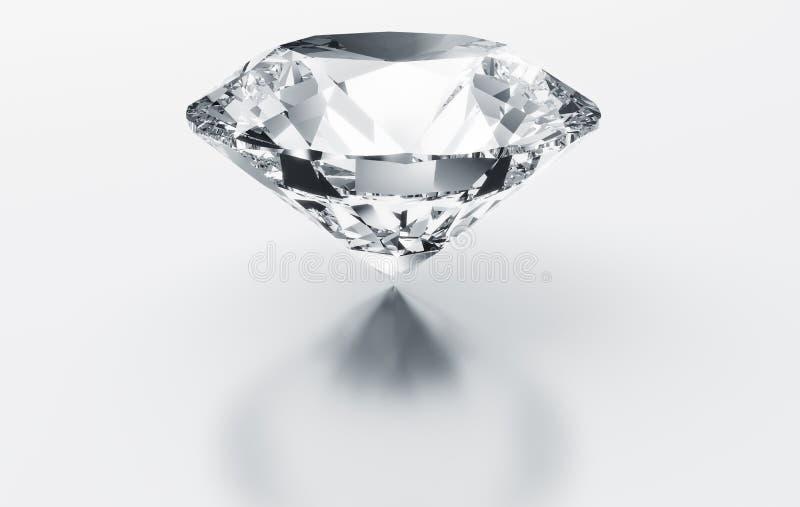 Solo diamante ilustración del vector