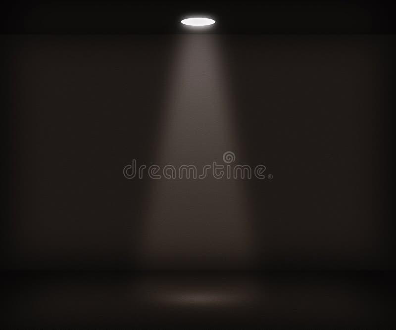 Solo fondo del sitio del proyector ilustración del vector