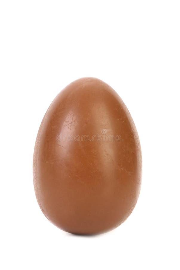 Solo huevo de chocolate. imagen de archivo libre de regalías