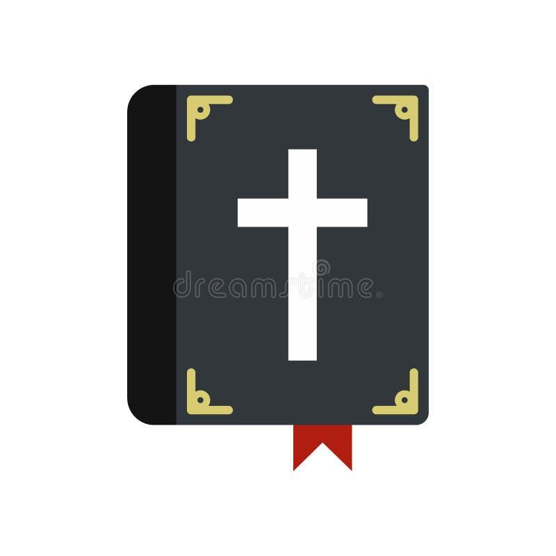 Solo icono de la biblia ilustración del vector