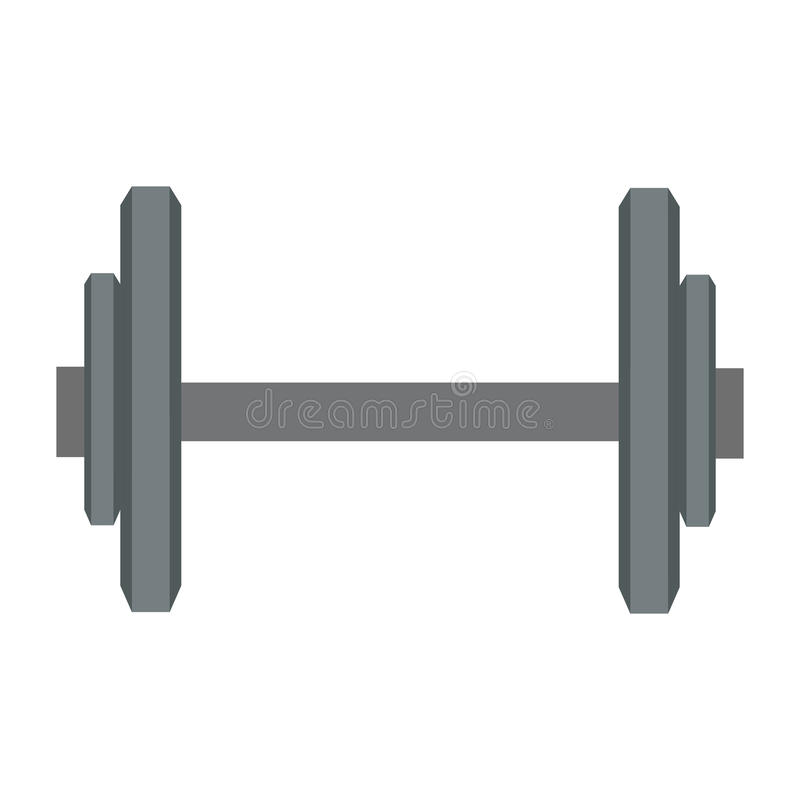 solo icono del barbell libre illustration
