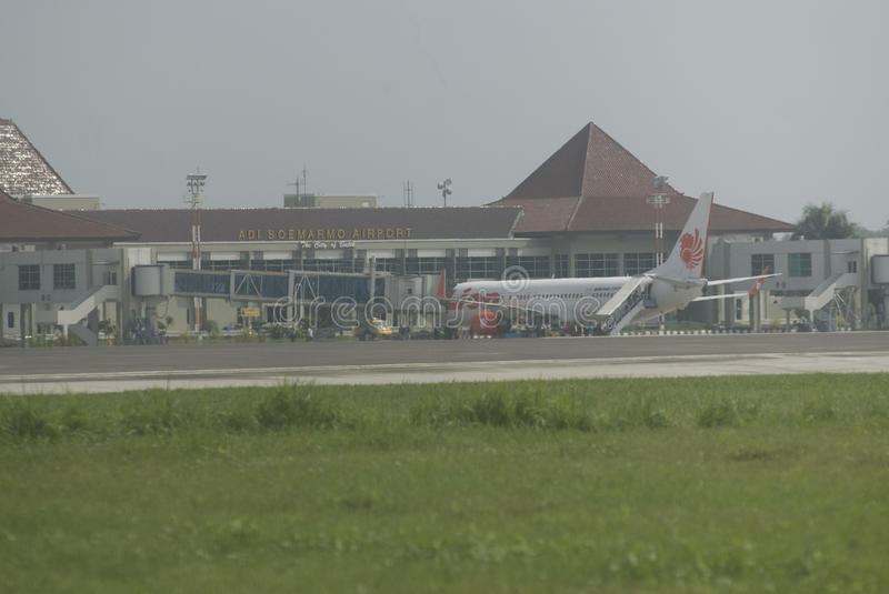 SOLO LUCHTHAVEN stock afbeelding