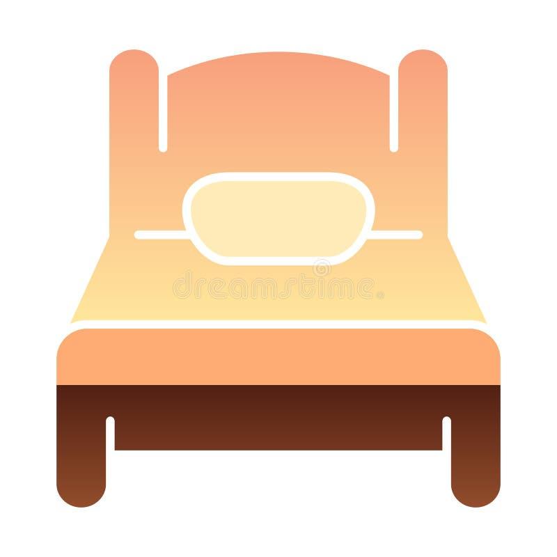 Solo mún icono plano Iconos del color del sueño en estilo plano de moda Diseño del estilo de la pendiente del solo sitio, diseñad libre illustration