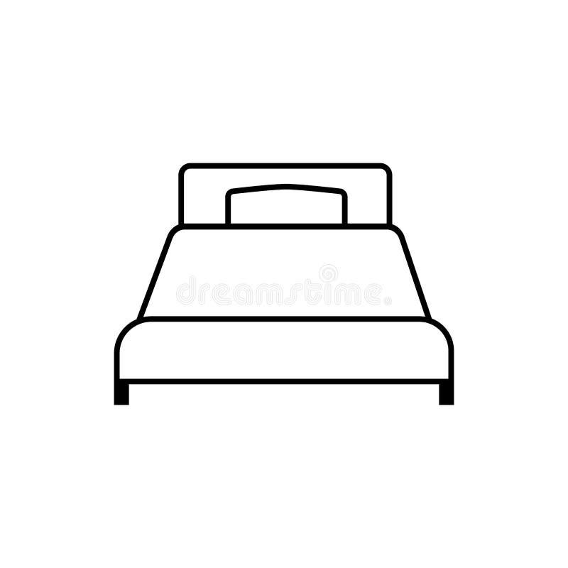 Solo malo Icono linear, vector libre illustration