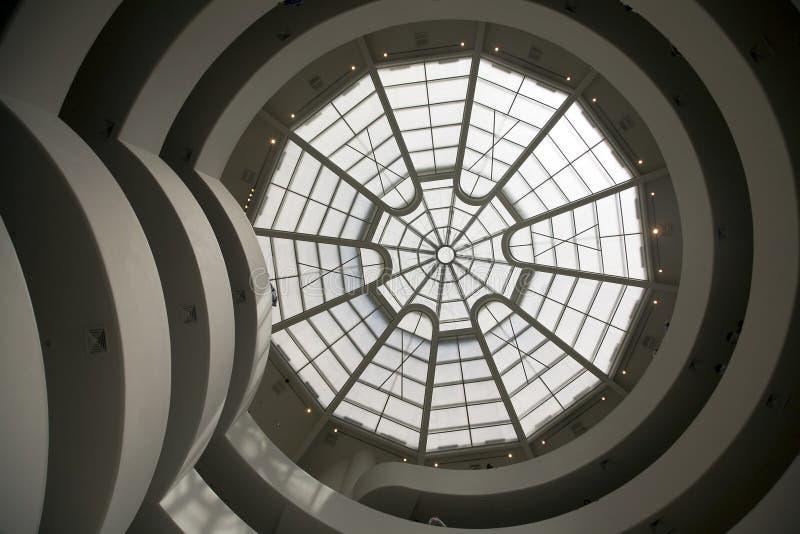 Solomon R. Guggenheim Museum royalty free stock photo