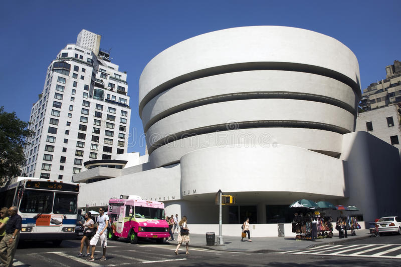 Solomon R. Guggenheim Museum stock photo