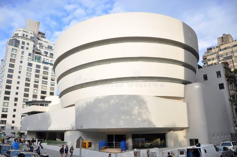Solomon R. Guggenheim Museum, de Stad van New York royalty-vrije stock fotografie