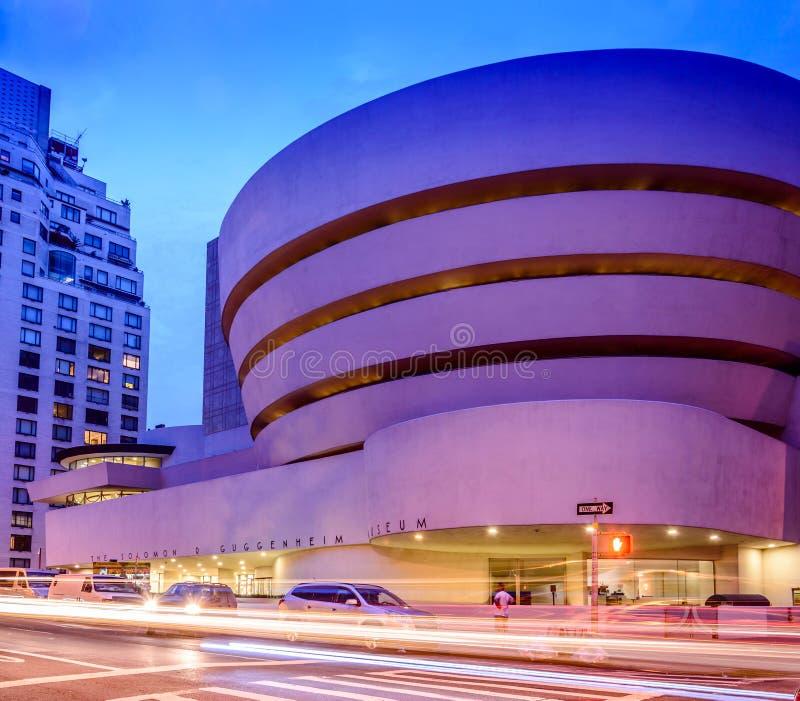 Solomon R Het museum van Guggenheim royalty-vrije stock afbeeldingen