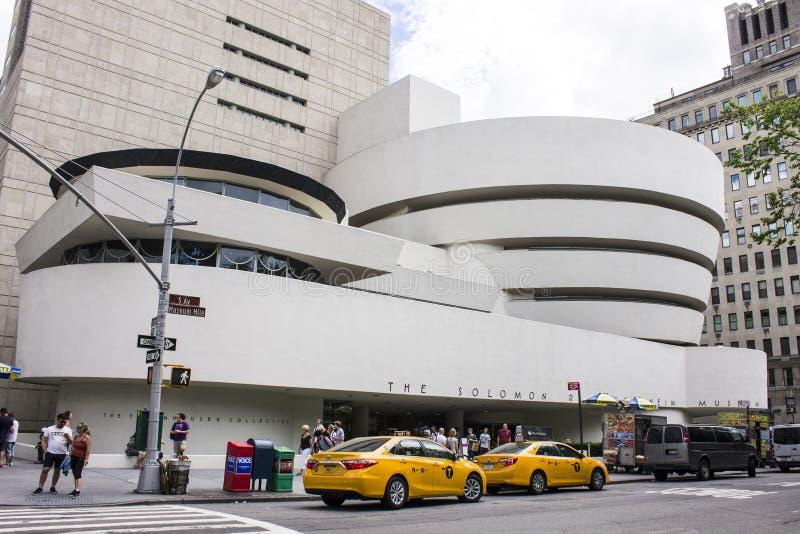 Solomon R Het museum van Guggenheim, de Stad van New York stock afbeelding
