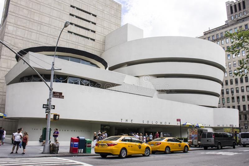 Solomon R Museu de Guggenheim, New York City imagem de stock