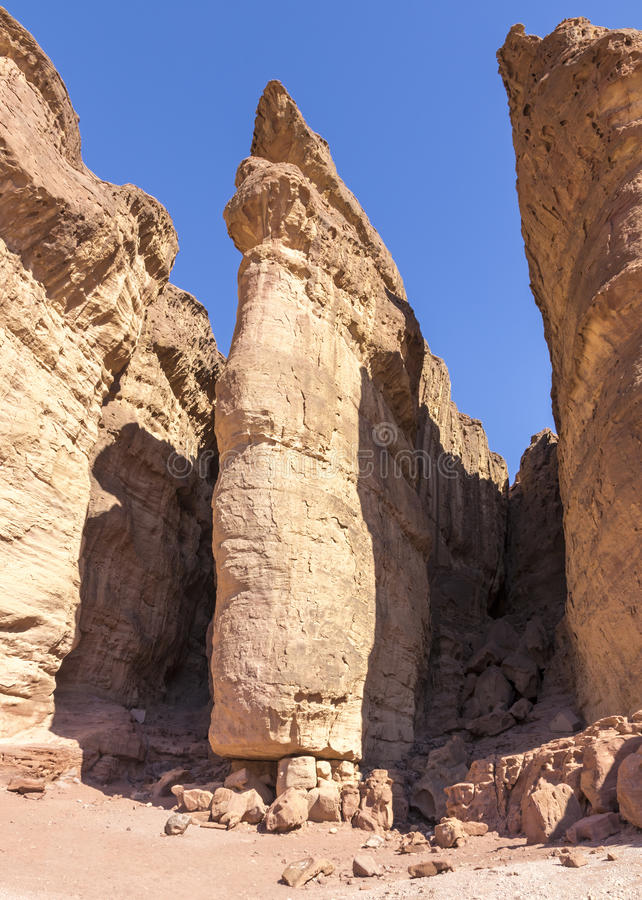 Solomon Pillars royalty free stock photo