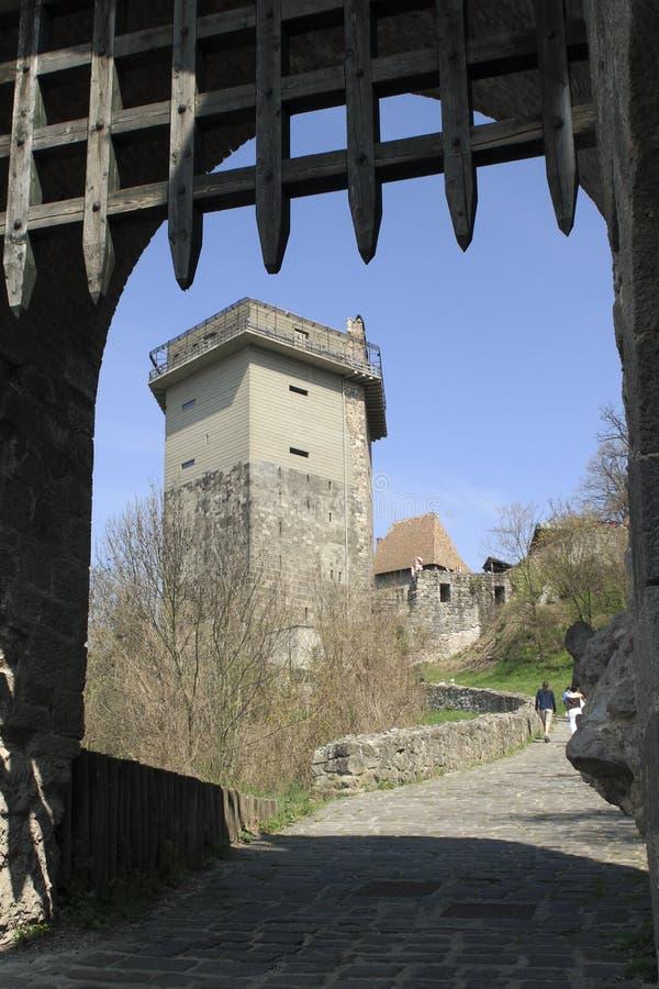 Solomon Tower en Visegrado imagen de archivo libre de regalías