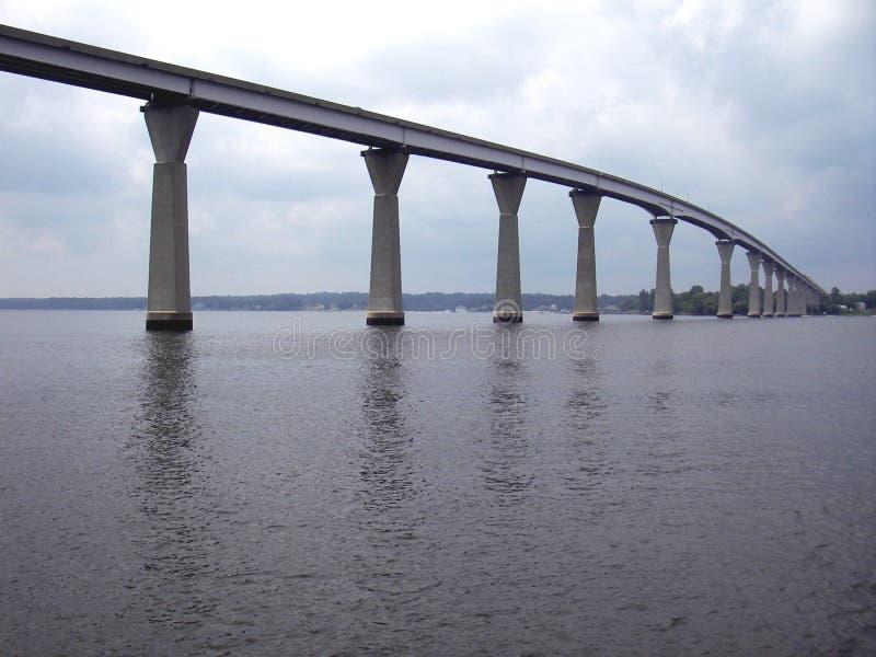 Solomons Insel-Brücke lizenzfreie stockbilder