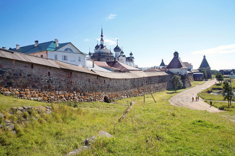Download Solovetsky Masculine Monastery Stock Image - Image: 26652093