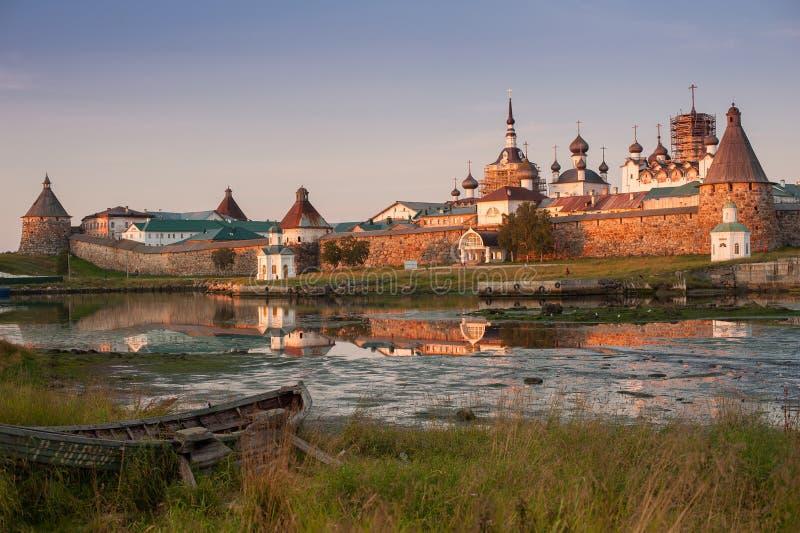 Solovetsky Monastery, Solovki stock images