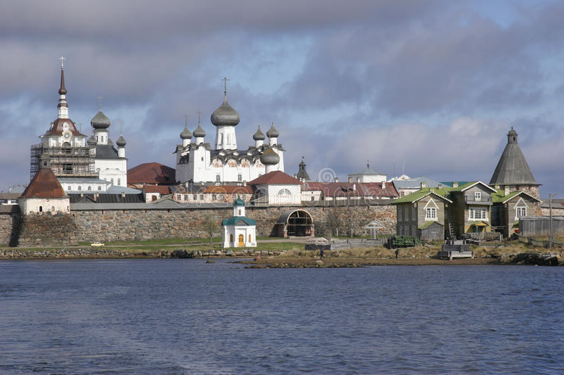 Solovki stock photography