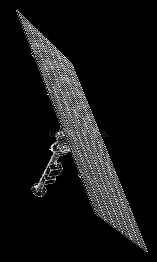 Solpanelteknologi arkivbild