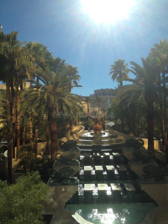 Solsken i Las Vegas royaltyfri foto