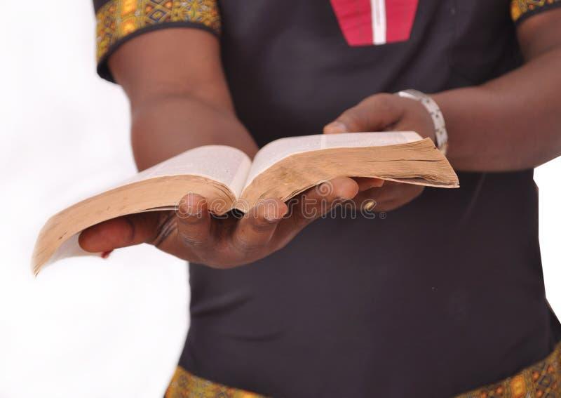 Soltanto la parola di Dio è una fonte di autorità fotografie stock libere da diritti