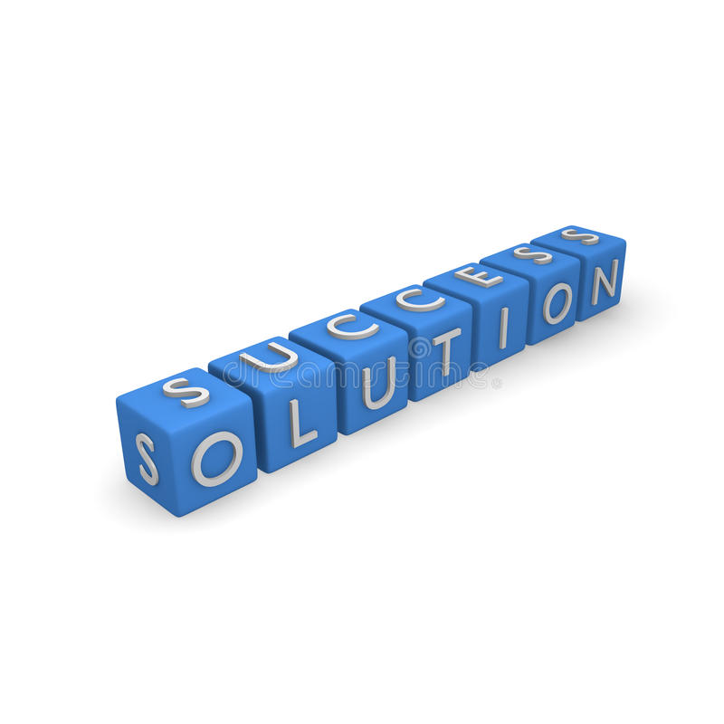 solução ilustração do vetor