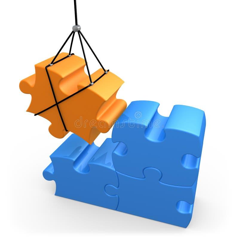 Soluções construtivas ilustração do vetor