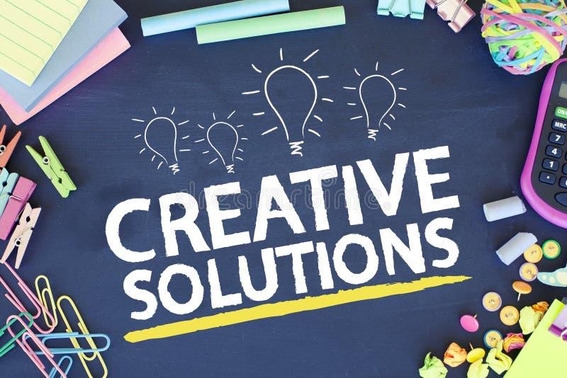 Soluções creativas do negócio imagem de stock royalty free