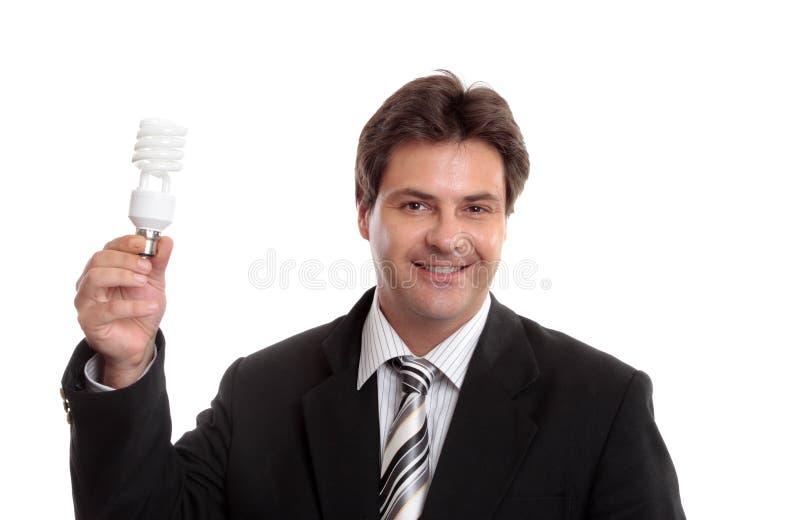 Soluções do negócio de Eco foto de stock royalty free