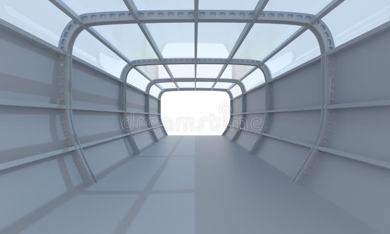 Solución interior ilustración del vector