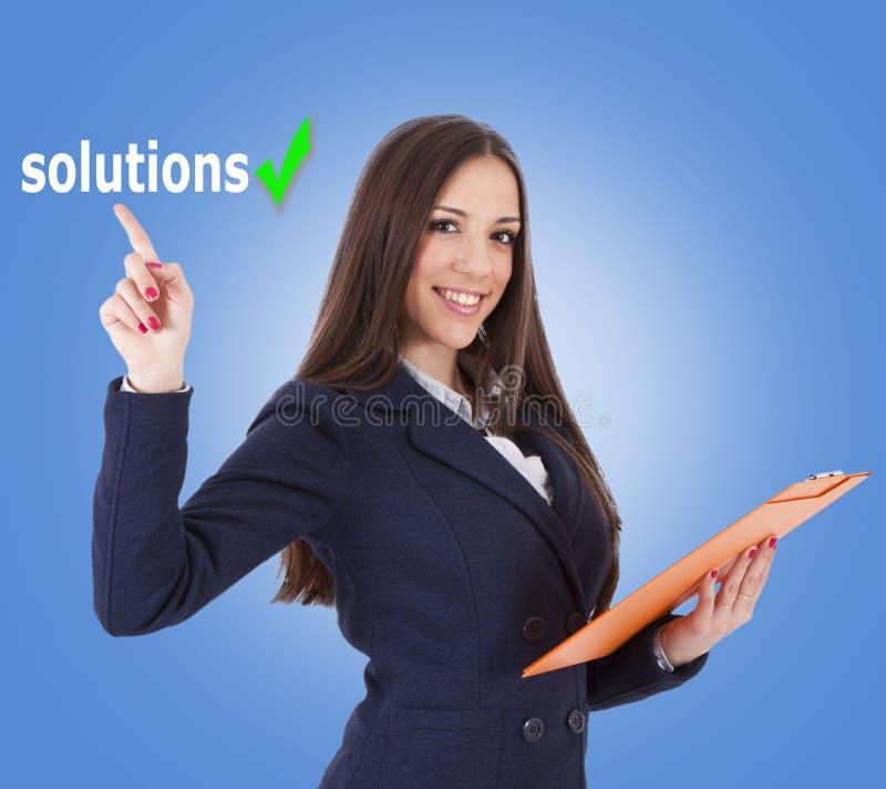 Soluciones imagenes de archivo