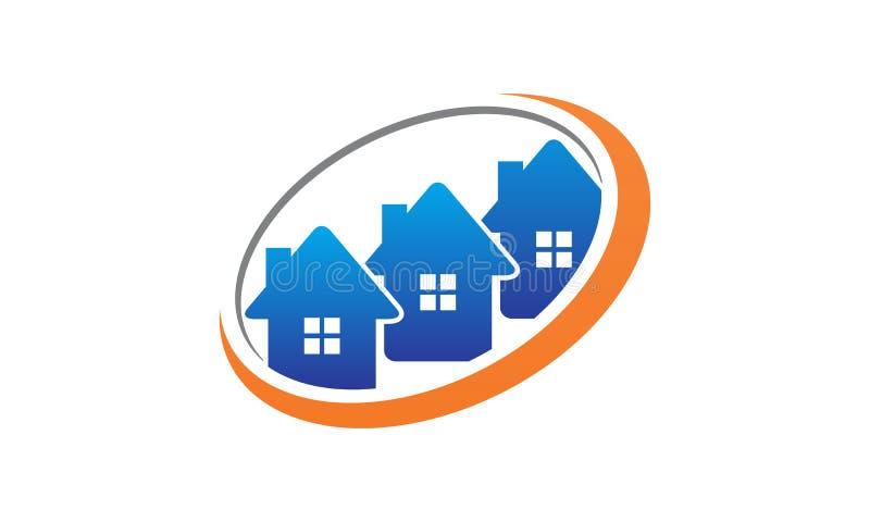 Soluciones de Real Estate stock de ilustración