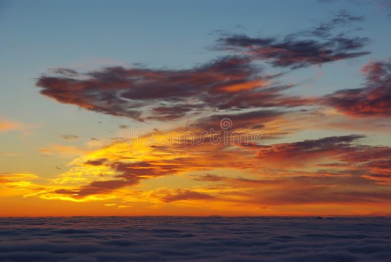 soluppgångöverkant royaltyfri foto