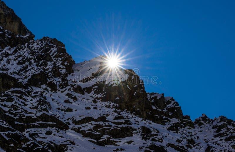 Soluppgång arkivbild