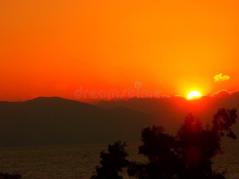 soluppgång royaltyfri foto